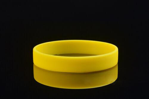 12 Farben Sport Silikon Gummi Armband Gummi Armband Männer Und Frauen ZP