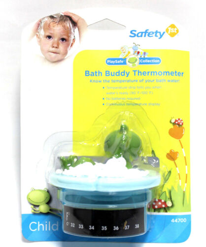 3x Safety 1st Bath Thermometer Buddy Rubber Frog Duck Playsafe Water Kids Baby