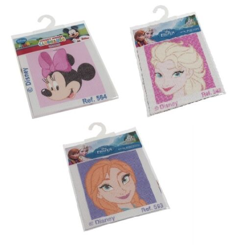 Minnie Mouse Disney Cross Stitch Kits Elsa /& Anna From Frozen Available!