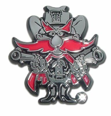 Elektroplate Texas Tech University Emblem TT