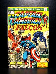 COMICS-Captain-America-171-1974-Black-Panther-app-RARE