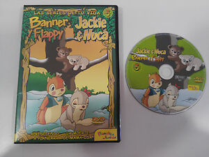 JACKIE-amp-NUCA-BANNER-Y-FLAPPY-SERIE-TV-VOL-5-DVD-2-CAPITULOS-REGION-0-ALL
