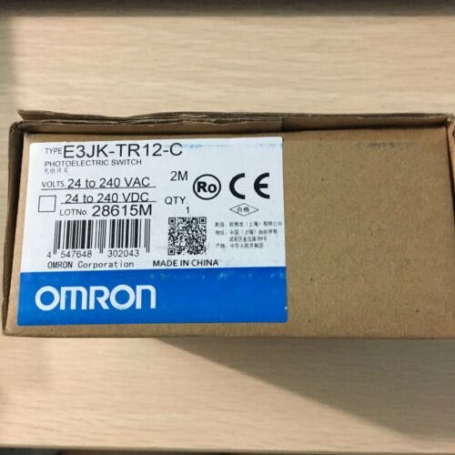 SALE! OMRON Photoelectric Switch E3JK-TR12-C E3JKTR12C #JO1