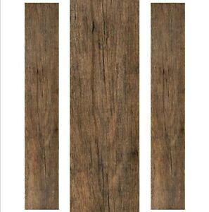 Vinyl Plank Flooring Self Adhesive Peel And Stick Rustic Wood Kitchen Floor Ebay