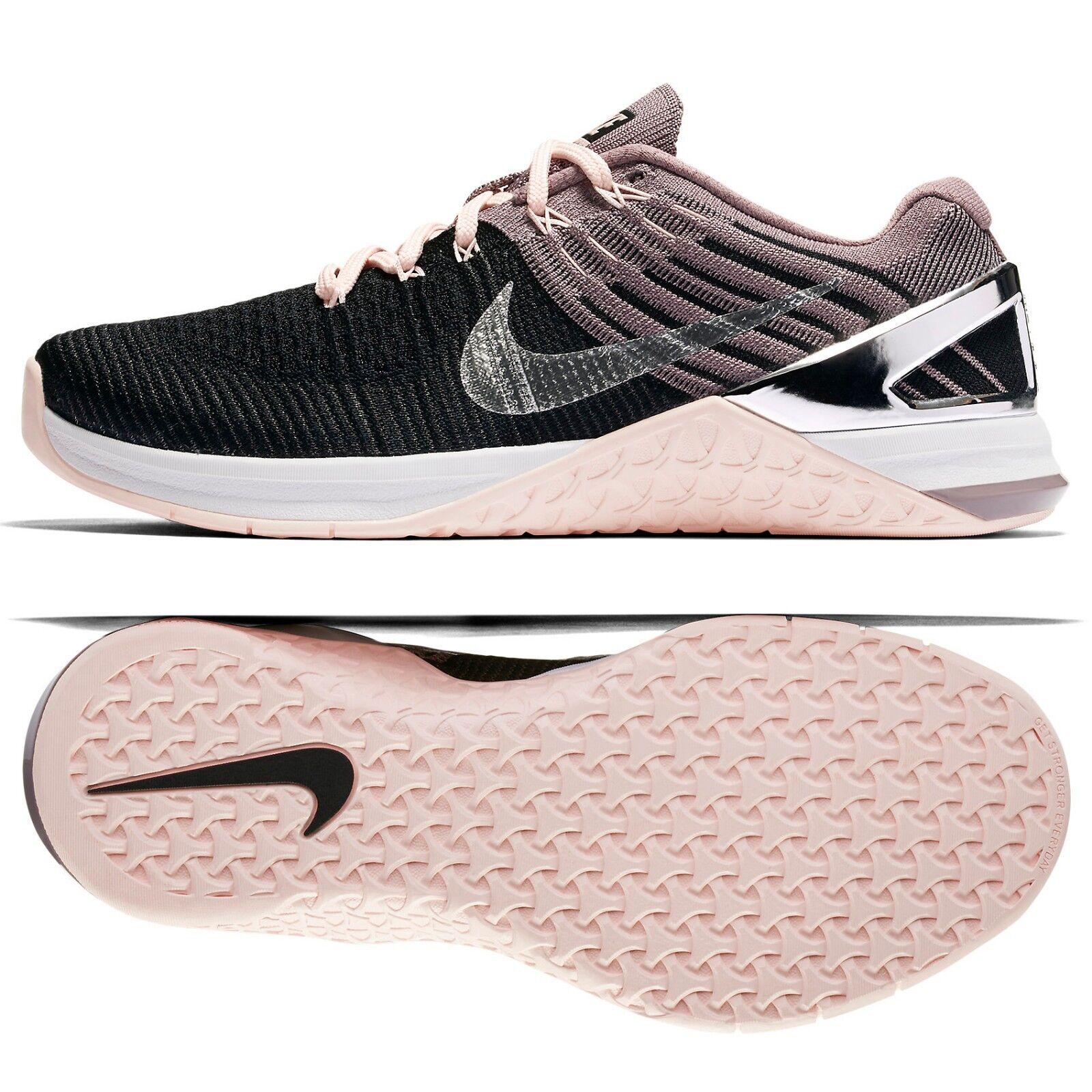 nike Femme metcon dsx flyknit bionic 904659-001 noir 15 gris tint chrome chaussure s z 15 noir d6e918
