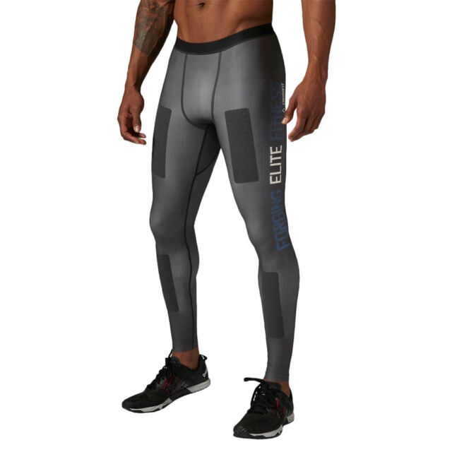Mens Training Reebok CrossFit PWR6 Compression Tight Built With Kevlar