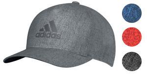 Adidas Heather Print Snapback Golf Hat Cap 2018 Adjustable New ... 84e89e878dae