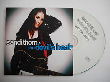 SANDI THOM : THE DEVIL'S BEAT [ FRENCH PROMO CD SINGLE ] ~ PORT GRATUIT !