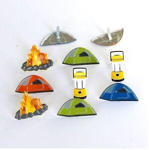 Brads-Camping-camp-fire-lantern-tent-boy-pk-4-scrapbooking