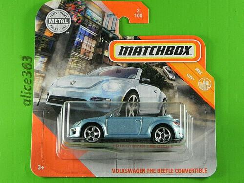 neu in OVP MBX City Volkswagen The Beetle Convertible Matchbox 2020 2