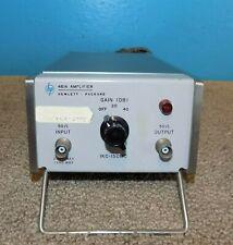 Hp Hewlett Packard 461a Low Noise Rf Amplifier 1khz 150mhz 2040db Gain 2