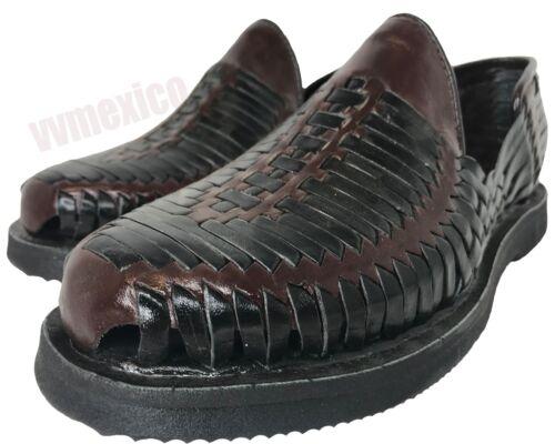 cuero Sandalias de hombre mexicanas con tamaños Zapato Huarache cerrada los punta ¡Nuevo Todos para UgwERqz