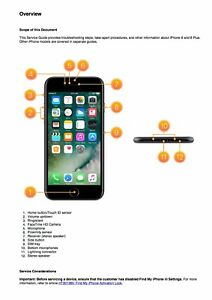 iphone 8 and iphone 8 plus service manual guide to repairing rh ebay com iphone 5s information guide apple iphone 4s information guide