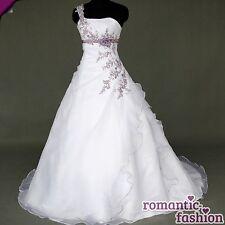 ♥Brautkleid, Hochzeitkleid in Weiß+Gr.34,36,38,40,42,44,46,48,50,52,od 54♥