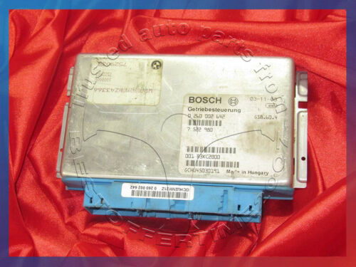 BMW E46 E39 E85 3 5 Z4/'ies 3.0i Eng BASIC TRANSMISSION CONTROL UNIT EGS 7522980
