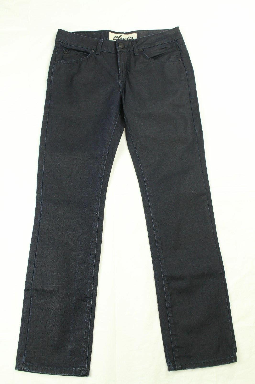 Claudio Milano Men's Jeans Straight Leg Dark Wash Retail