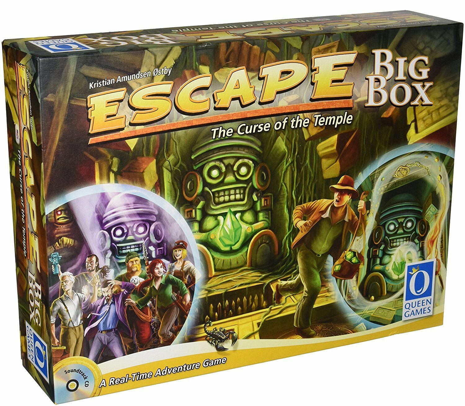 Queen Games Escape Big Box famille Dice Board Game