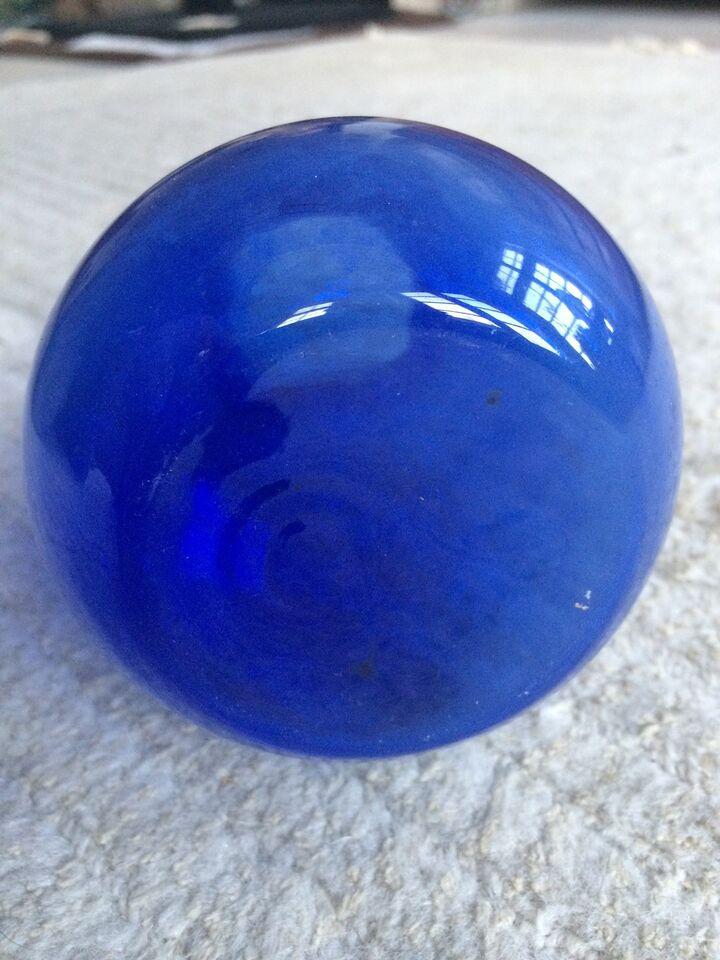Glas, Ældre hyacint glas , Blå