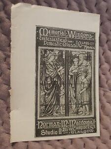 Memorial-Windows-Ecclesiastical-amp-Domestic-Glass-1906-Advertisement