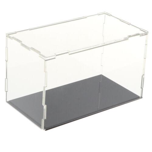 TRASPARENTE ACRILICO vetrina DISPLAY BOX CUBO protezione modello Bambola e