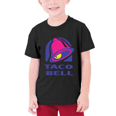 Kids boys girls Taco Bell Short Sleeve t shirt tee