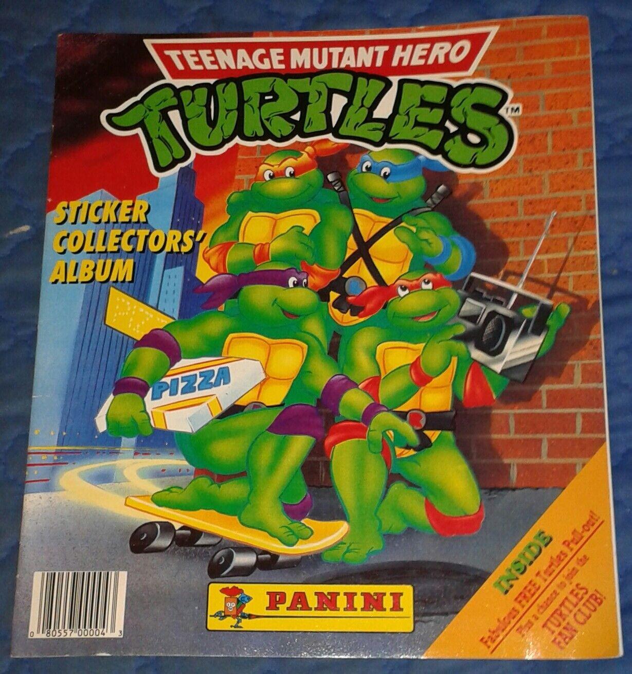 1990 ** PANINI 206/252 Adesivo COLLECTION ** Teenage Mutant Ninja Turtles TMNT