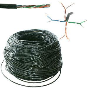 50m au en enxtern cat5 ethernet netzwerk kabelrolle. Black Bedroom Furniture Sets. Home Design Ideas