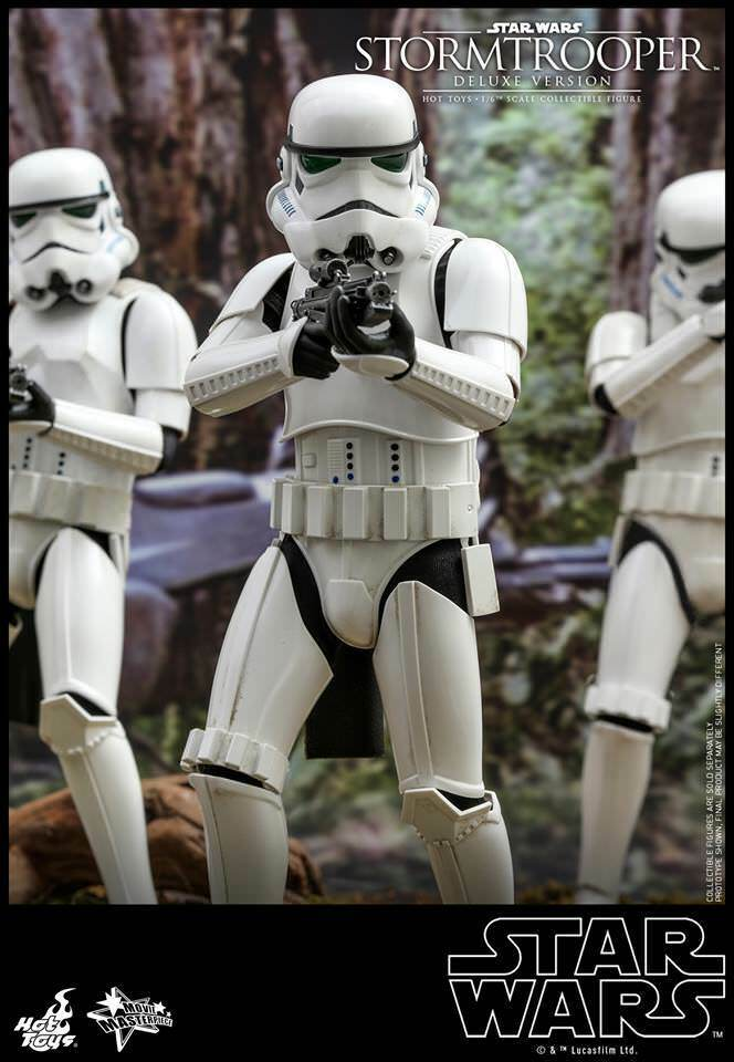 Hot Toys Stormtrooper (Deluxe Version)-Star Wars MMS515 UK