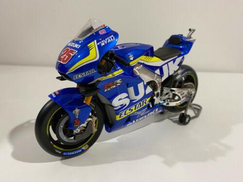 Spark M12033 Suzuki GSX-RR 25 Moto GP Winner Angleterre 2016 1//12  #NEW#