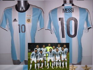 119e4ab15ef Image is loading Argentina-Messi-Aguero-Higuain-Adidas-M-L-XL-BNWT-