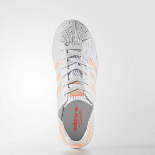 Adidas Original Superstar Women's Shoes White Sun Glow BA7736