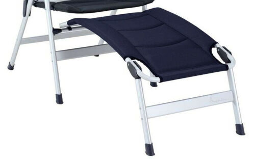 Dark Blue Isabella Thor Chair and Isabella Footrests