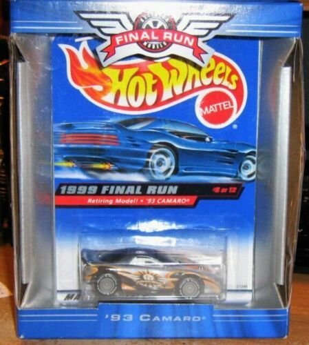 Retired Hot Wheels 1999 Final Run Series MIP you Pick /& Paid
