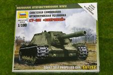 Zvezda SU-152 Soviet Self Propelled Gun 1/100 scale  6182