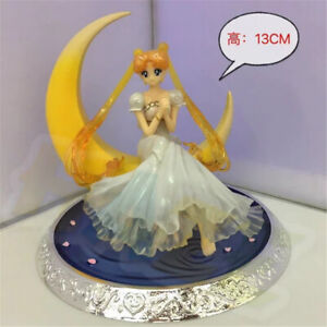 Anime-Sailor-Moon-Chibi-Usa-Sailor-Chibimoon-PVC-Figure-Model-13cm-New