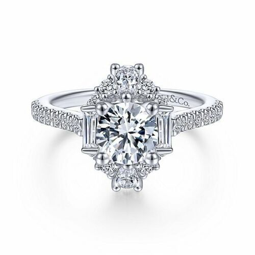 Noble Women Silver White Sapphire Wedding Proposal Ring Gifts Jewelry Size 6-10