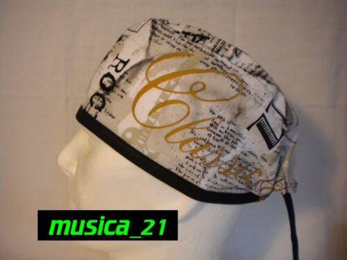 Bandana Cuffia chirurgica Sottocasco Surgical cap musica/_21