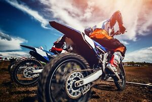 A1-Motorbike-Poster-Art-Print-60-x-90cm-180gsm-Biker-Motocross-Bike-Gift-8305