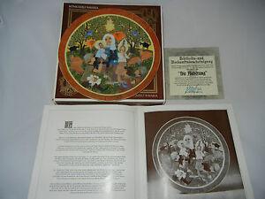 Konigszelt-Hedi-Keller-Christmas-Plate-1979-Die-Worship-Boxed-Certified-No