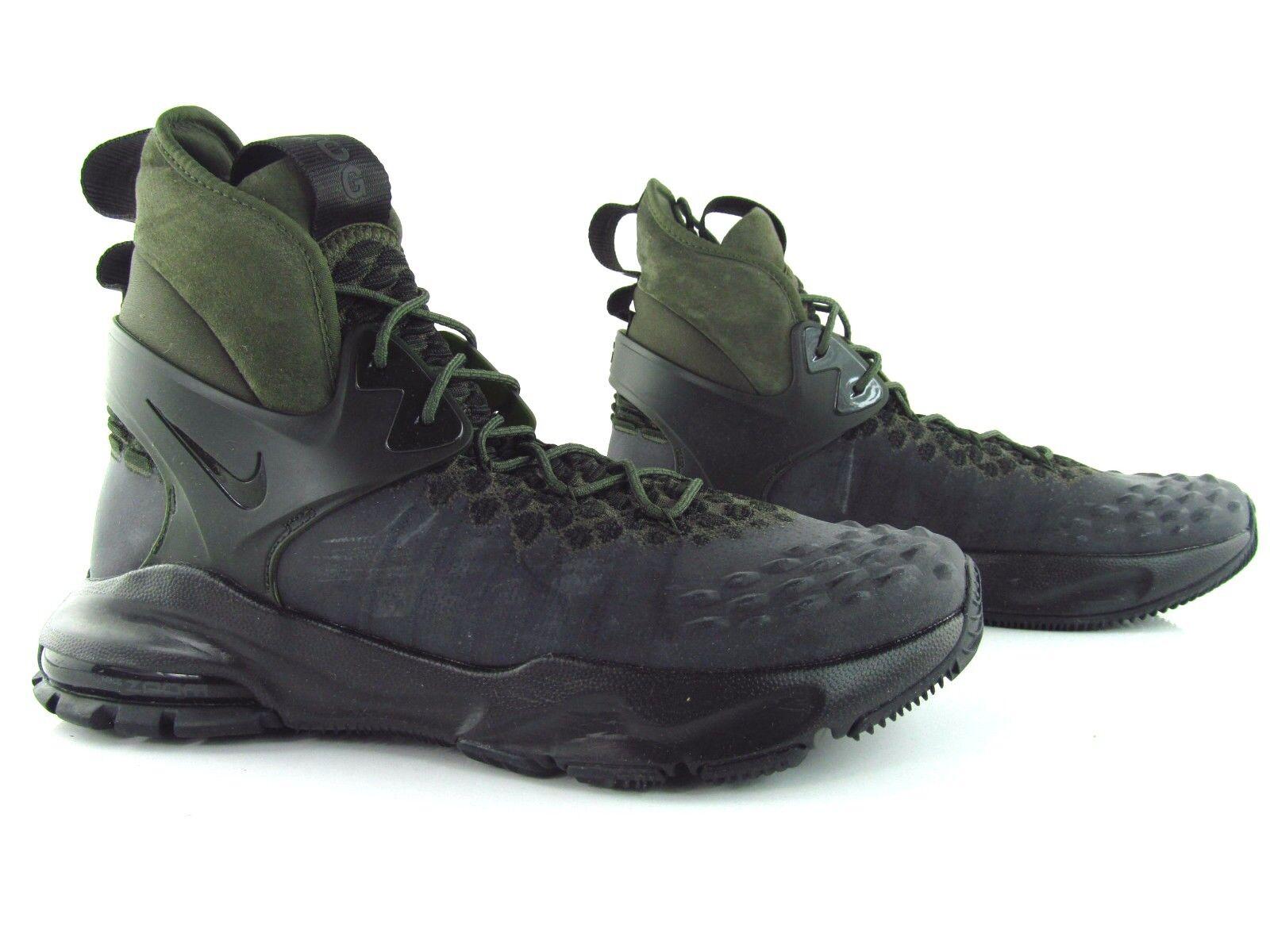 Nike nikelab zoom tallac flyknit acg un carico nero - kaki uk_7 us_8 eur 41