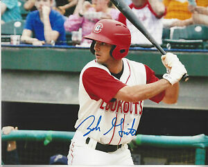 Ny Yankees Zach Granite Autographed 8x10 Action Photo As A