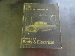 Ford-1974-Truck-Shop-Manual-Body-amp-Electrical-Volume-3-amp-4