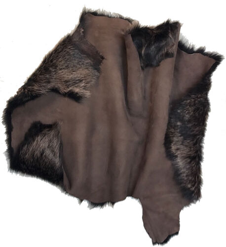 Collars, Brown Gold Sheepskin Toscana Gold Tip Lambskin Clothing Garments