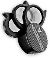 Bausch & Lomb Magnifier Folding Pocket Loupe 5x-20x Coin Jewelry Stamp Gemstones
