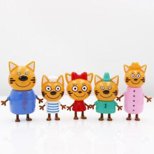 KID-E-CATS-DOLCI-GATTINI-5-PERSONAGGI-CARTONE-ANIMATO-BAMBINO-BAMBINA-GATTI-NEW