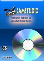 Audio / Video Screen Capture Recorder Application For Windows Cdrom