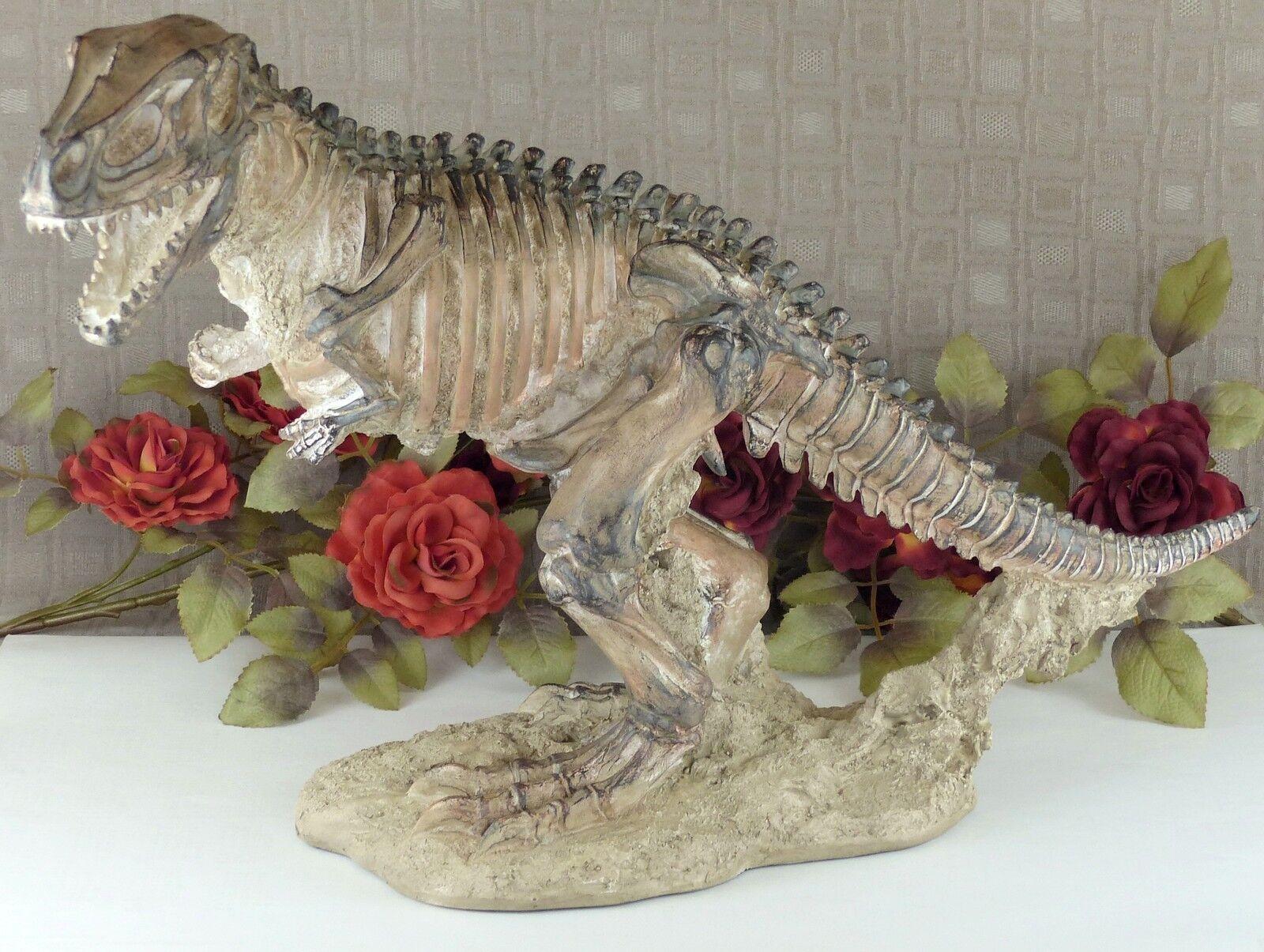XXL dinosaurios personaje escultura esqueleto tiranosaurio fossil animal personaje Jurassic