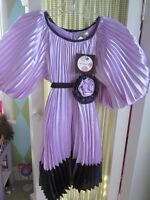 Halabaloo Girls Special Occasion Lavender And Purple Pleated Dress Sz 5 $99