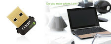 NANO ADATTATORE WIRELESS USB MICRO WI-FI ADAPTER MINI PENNA CHIAVETTA wifi PEN