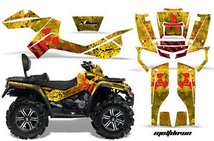 ATV-Graphics-Kit-Decal-Wrap-For-CanAm-Outlander-Max-500-800-2006-2012-MLTDWN-R-Y